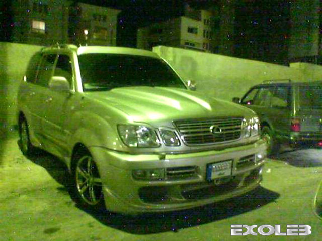 This tuned Lexus SUV was spotted by Georrges Khairallah in Aach'out,