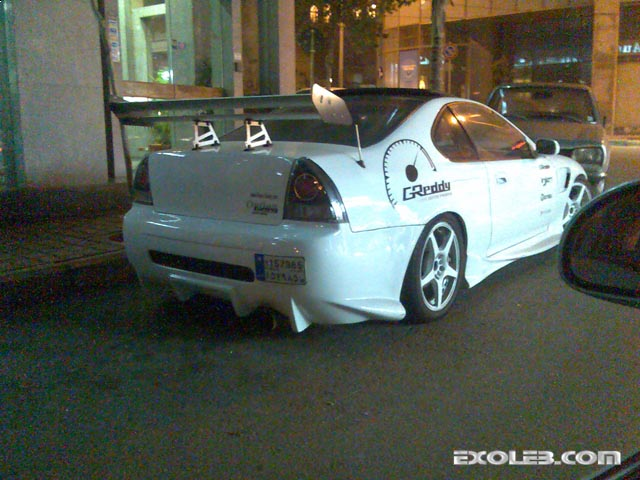 Tuned Honda Prelude